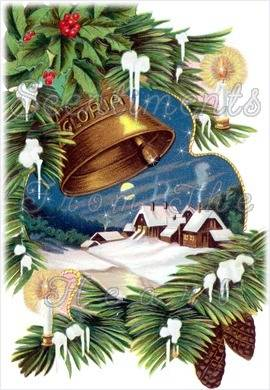 Christmas bells are pealing in their echoes ring, Heaven bless and keep thee as the sweet bells sing. Merry Christmas Blessings!