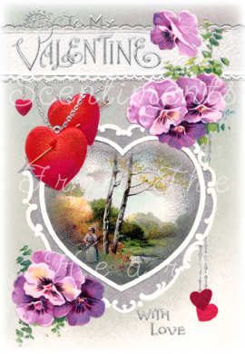 You sweeten my life with your loving heart. Valentine Blessings!